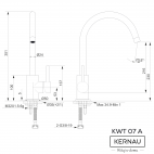 Kernau KWT 07 A Black Metallic